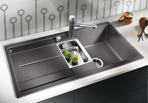 blanco metra 6s silgranit en translation kitchen sinks. Black Bedroom Furniture Sets. Home Design Ideas
